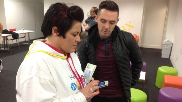 Charlie from The Risk meets Harry Moseley's mum