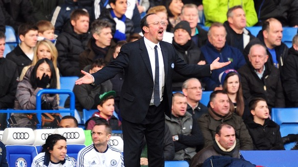 Benitez hopes Chelsea can turn things around this afternoon.