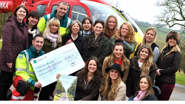'The Game Birds Calendar 2013' has raised thousands for charity
