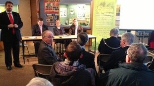 Grantham museum press conference