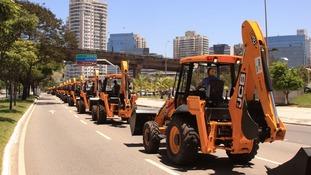1,000 backhoe loaders ordered for Brazil