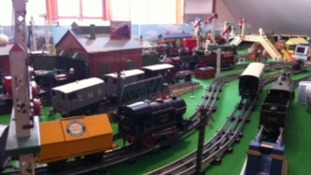 Parts of the train collection date back to the 1930s.
