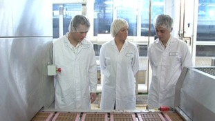 Apprentices at Cadbury's