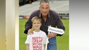 Ben Charlton and Sir Ian Botham