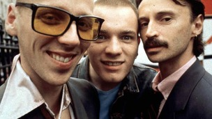 A scene from Trainspotting starring (L-R) Ewan Bremner, Ewan McGregor and Robert Carlyle