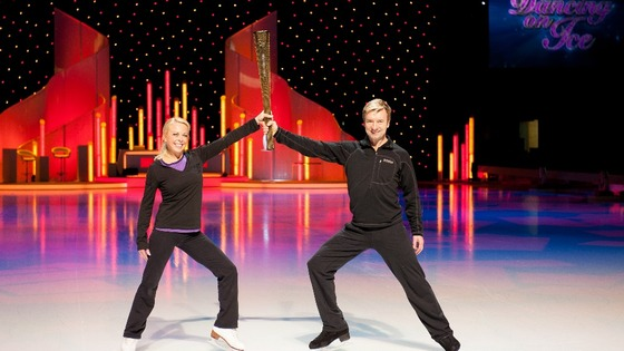 Dancing on Ice judges Torvill and Dean.