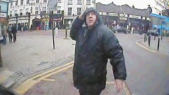 CCTV image of Brian Lynch, 44, released by the police