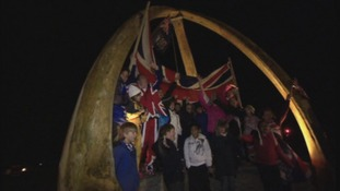 Falkland Islanders celebrated after the resounding referendum results