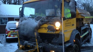 One of the East Sussex Highways gritter