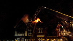 Fire at Buckholme Towers School