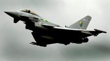 The MoD says a loud sonic boom heard across parts of the Midlands was caused by Typhoon aircraft.