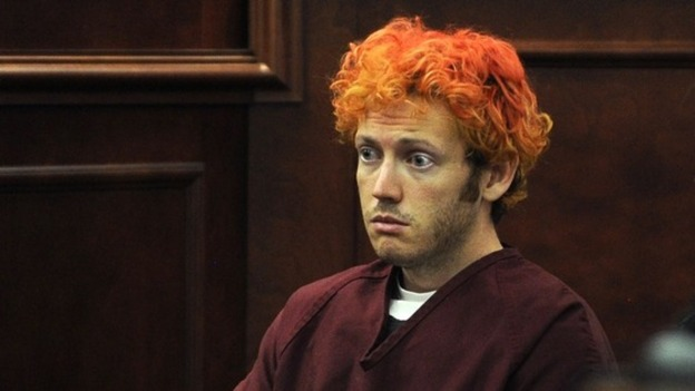 James Holmes' first court appearance after the shooting