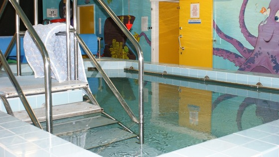 The old pool at Ryegate Children's Centre