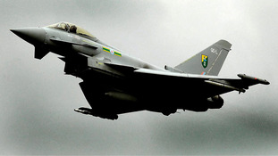 Eurofighter Typhoon aircraft