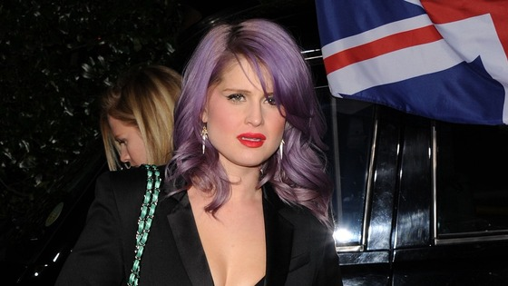 Kelly Osbourne pictured in Los Angeles last month.