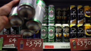 The issue of minimum alcohol pricing has split Conservatives in the Cabinet