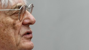 Formula One CEO Bernie Ecclestone