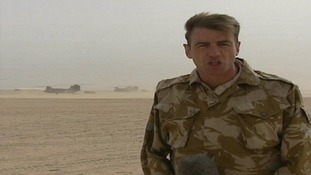 ITV News' Bill Neely reports from Iraq