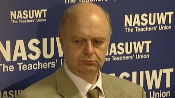 Peter Harvey speaking at a press conference in 2010
