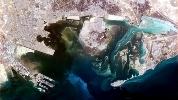 Tarout Bay in Saudi Arabia