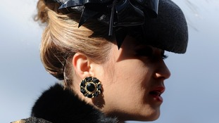 Racegoers dress to impress at Cheltenham Ladies Day