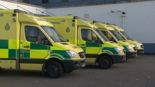 999 delays feared as ambulances queue outside hospitals