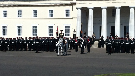 Sandhurst parade