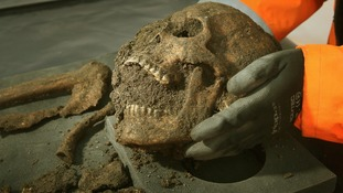 Black Death skeletons discovered in London Crossrail dig