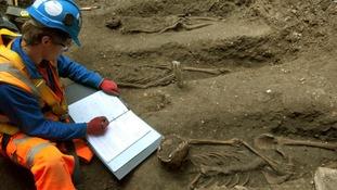 'Black Death' burial ground