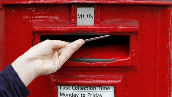 Royal Mail delivers 84million items a day