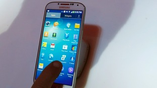 Samsung's Galaxy S4 phone