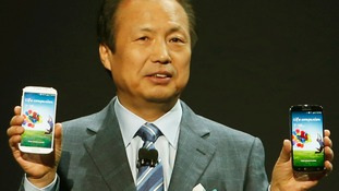 JK Shin, President and Head of IT and Mobile Communication Division at Samsung