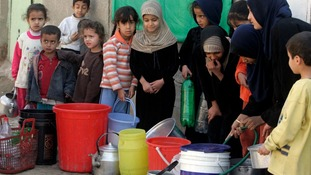 There have been problems with water supply shortages in large parts of Iraq