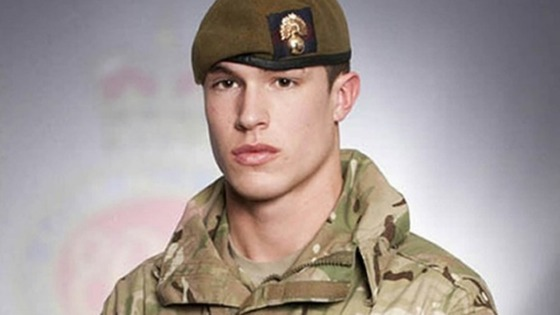 Lance Corporal James Ashworth of 1st Battalion The Grenadier Guards.