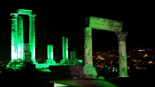 The Amman Citadel in Jordan
