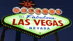 The Las Vegas 'Welcome' sign in Nevada, USA
