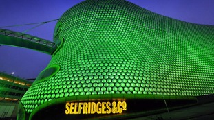 Selfridges department store in Birmginham