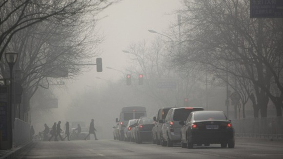Premier Li said he was 'quite upset' by the 'hazy weather'.