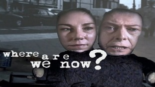 A screengrab from one of the new single's on Bowie's album: 'Where Are We Now?'.