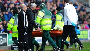 Wigan striker could face action after knee-high tackle