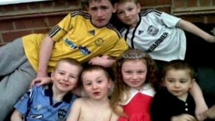 The six Philpott children who died as a result of the blaze in May 2012