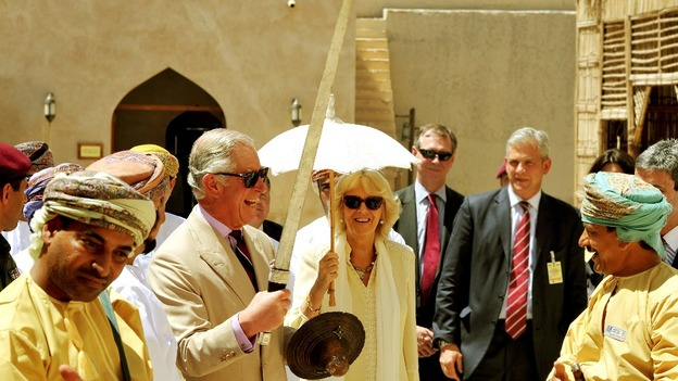 Prince Charles apparently ready for battle