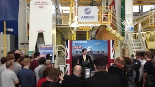 £2 Billion pledged for aerospace industry