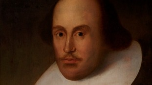 Portrait of Shakespeare, believed to be have painted from life