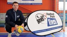 Gareth Southgate will act as the football charity's ambassador