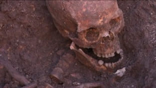 King Richard III's remains were found in a car park in Leicester