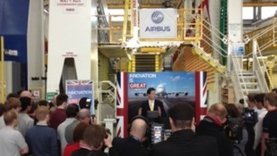 Major new investment in Britain's aerospace industry to be based in Bristol