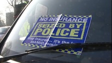 Car seized by police for not having car insurance