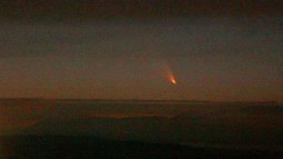 Comet soars over region
