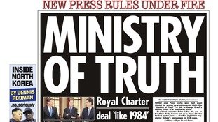 Ministry of Truth: The Sun front page